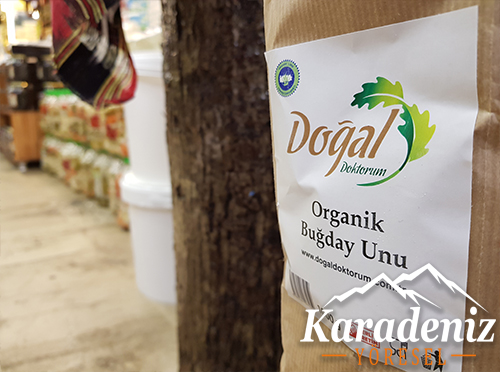 Organik Buğday Unu 1kg