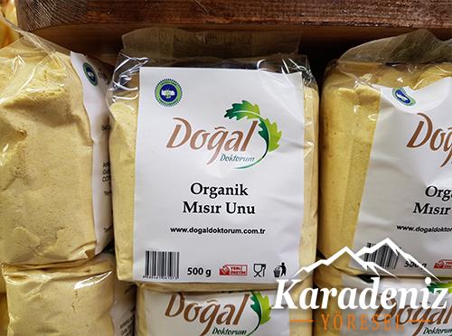 Organik Mısır Unu 500gr